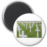 Cementerio americano en Normandía Iman De Nevera