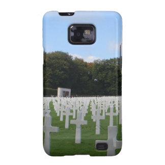 Cementerio americano Luxemburgo Samsung Galaxy SII Funda