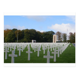 Cementerio americano Luxemburgo Postales