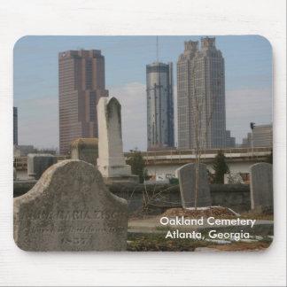 Cementerio Atlanta, Georgia de Oakland Mouse Pads