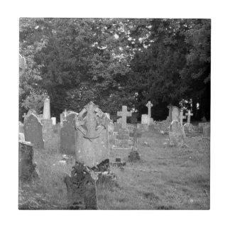 Cementerio Azulejo Cuadrado Pequeño
