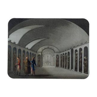 Cementerio curioso debajo del monasterio del capuc imán foto rectangular