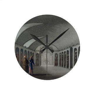 Cementerio curioso debajo del monasterio del capuc relojes de pared