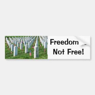 Cementerio de Arlington Pegatina De Parachoque