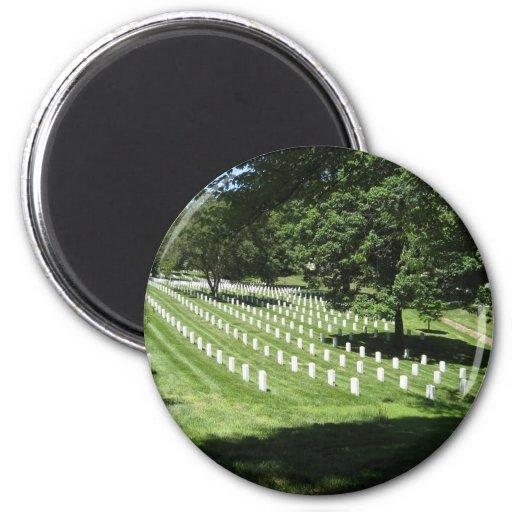 Cementerio de Arlington Imán Redondo 5 Cm