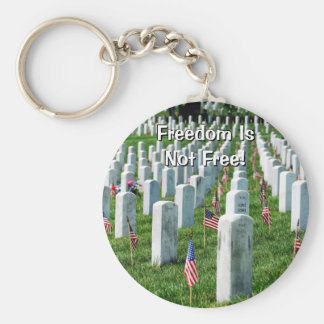Cementerio de Arlington Llavero Redondo Tipo Pin