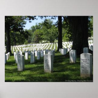 Cementerio de Arlington Impresiones