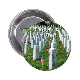 Cementerio de Arlington Pin Redondo De 2 Pulgadas