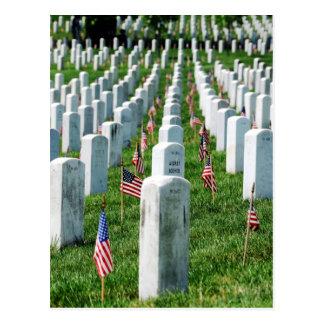 Cementerio de Arlington Postal