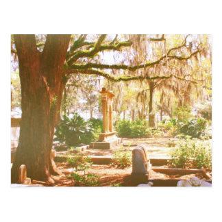 Cementerio de Bonaventure Tarjeta Postal