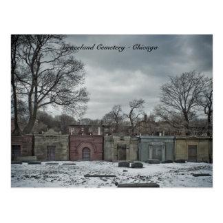 Cementerio de Graceland de las postales - Chicago,