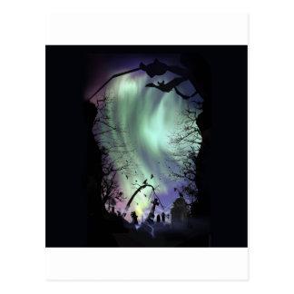 cementerio de la aurora tarjeta postal