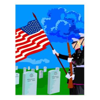 Cementerio de los soldados postal