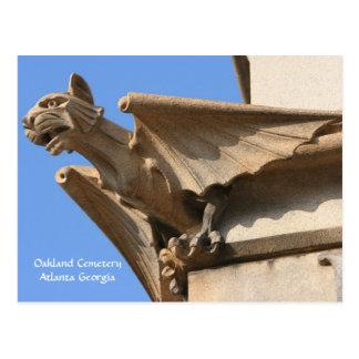 Cementerio de Oakland, Atlanta GA, postal
