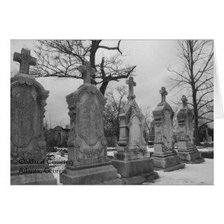 Cementerio de Oakland - tarjeta de felicitación de