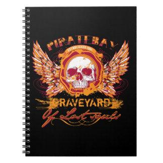 Cementerio de PirateBay de las alas perdidas del Libros De Apuntes Con Espiral