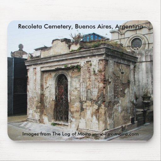 Cementerio de Recoleta, Buenos Aires, la Argentina Tapetes De Ratones