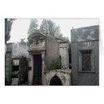 Cementerio de Recoleta, Buenos Aires, la Argentina Felicitación