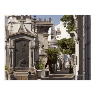 Cementerio de Recoleta del La en Buenos Aires Postales