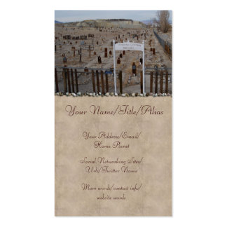 Cementerio de Tonopah Tarjetas De Visita