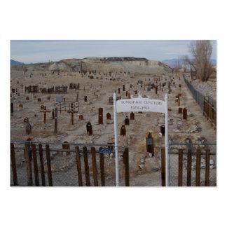 Cementerio de Tonopah Tarjetas De Visita Grandes