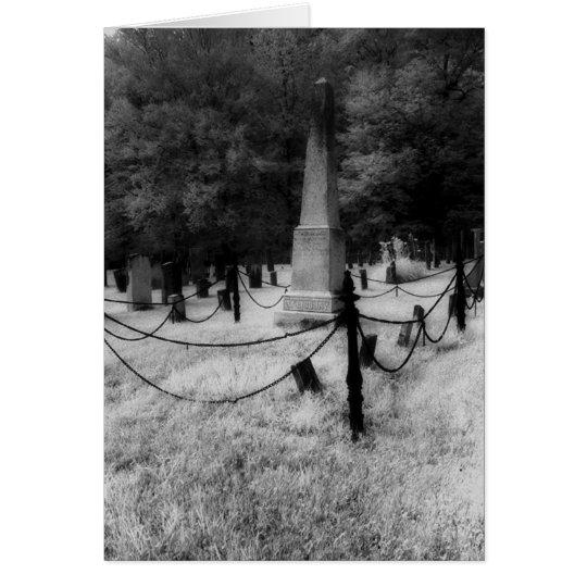 Cementerio de Townsend, Vt. Tarjeta De Felicitación