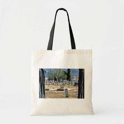 Cementerio del desierto bolsa de mano
