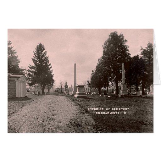 Cementerio del sur de Charleston Ohio Tarjetón