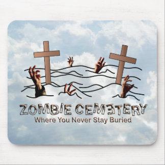 Cementerio del zombi - básico tapetes de raton
