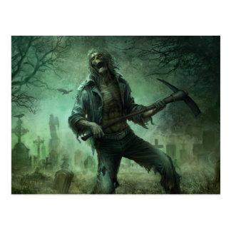 Cementerio del zombi, postal