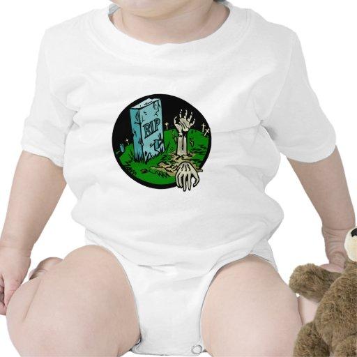 Cementerio del zombi traje de bebé