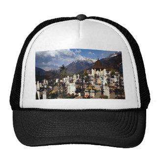 Cementerio, Dorf el Tirol, (Tirolo), alto el Adigi Gorra