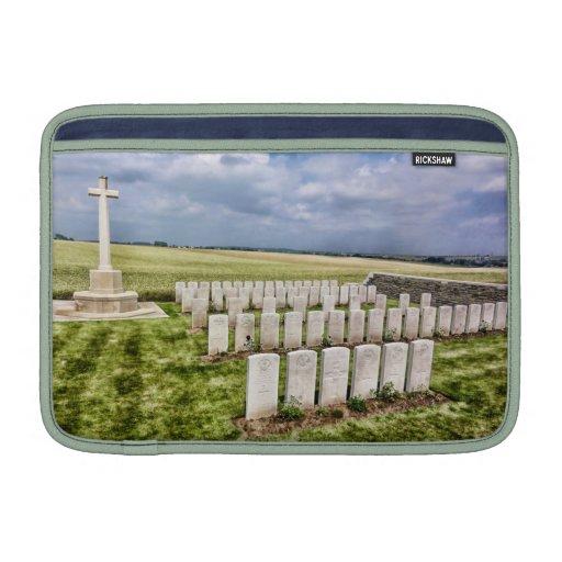 Cementerio en Francia Funda Para Macbook Air