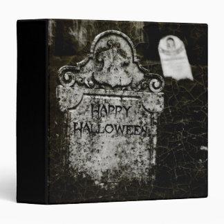 "Cementerio espeluznante 1,5"" del feliz Halloween á Carpeta 1 1/2"""