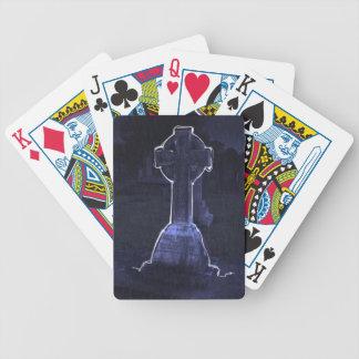 cementerio fantasmagórico baraja de cartas