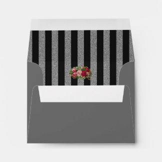 Cementerio floral del vintage - sobre
