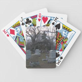 Cementerio frecuentado baraja de cartas