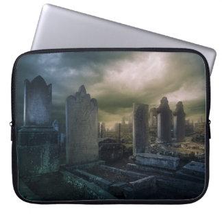 """Cementerio gótico 15"""" caja del ordenador portátil mangas computadora"""