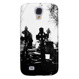 Cementerio gótico espeluznante carcasa para galaxy s4