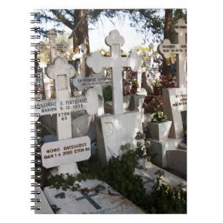 Cementerio griego libreta