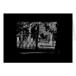 Cementerio hugonote en St Augustine la Florida Tarjeta De Felicitación