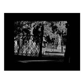 Cementerio hugonote en St Augustine la Florida Tarjeta Postal