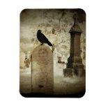 Cementerio infrarrojo imanes de vinilo