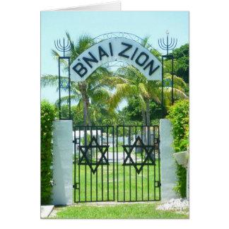 Cementerio judío de Key West Tarjeta Pequeña