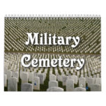 Cementerio militar calendarios de pared