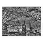 cementerio misterioso tarjetas postales