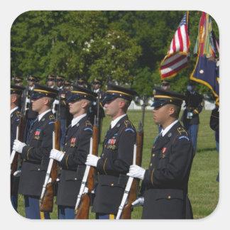 Cementerio nacional de Arlington, Arlington, Pegatina Cuadrada