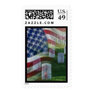 Cementerio nacional de Arlington, bandera Sellos