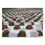 Cementerio nacional de Arlington de la nieve de la Tarjetas