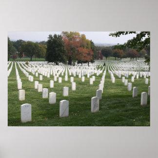 Cementerio nacional de Arlington Poster